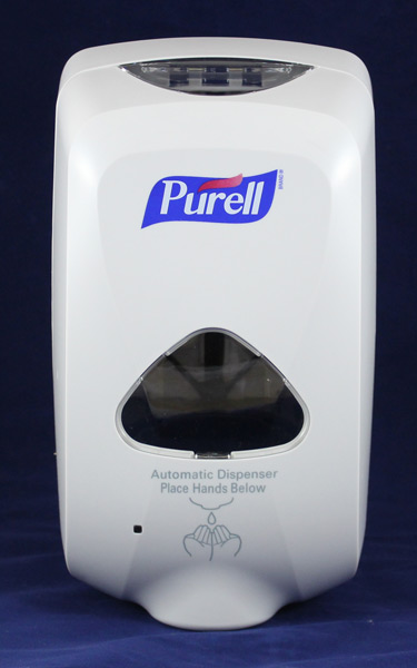 Hands Free Purell Foam Dispenser