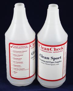 Clean Check Empty Quart Bottle