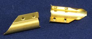 Brass Squeegee Channel End Clip